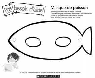 Masque poisson