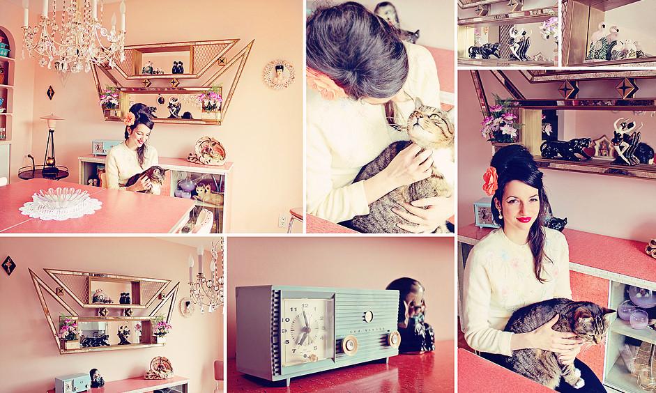 Jackie et John visite guidée par Esprit Vintage ©Esprit Vintage