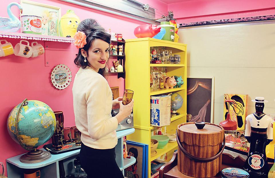 Boutique à domicile chez Jackie et John par Esprit Vintage ©Esprit Vintage