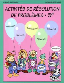Résolution de problèmes 3e année