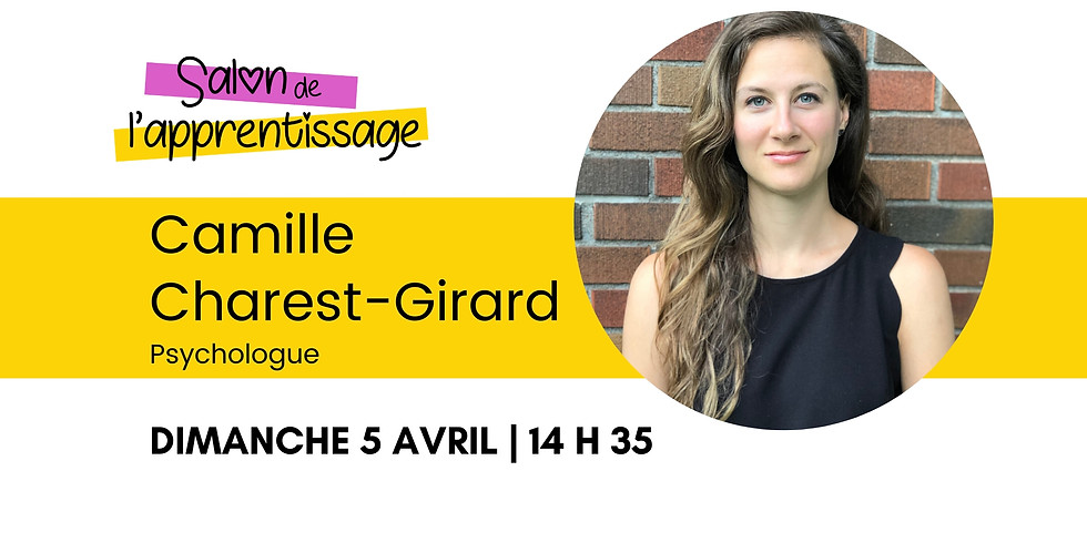14 h 35 Camille Charest-Girard  | La douance... qu'est-ce que c'est?
