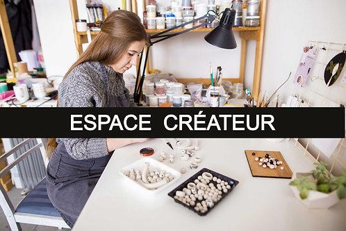 Espace mensuel créateur