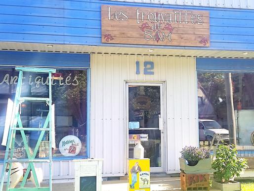 Les trouvailles de SAM une nouvelle boutique vintage en Montérégie