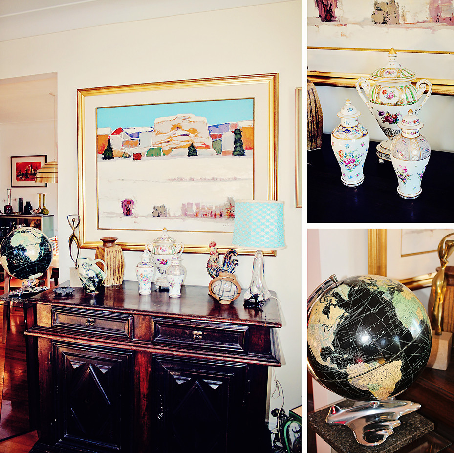 Collection ambiance retro