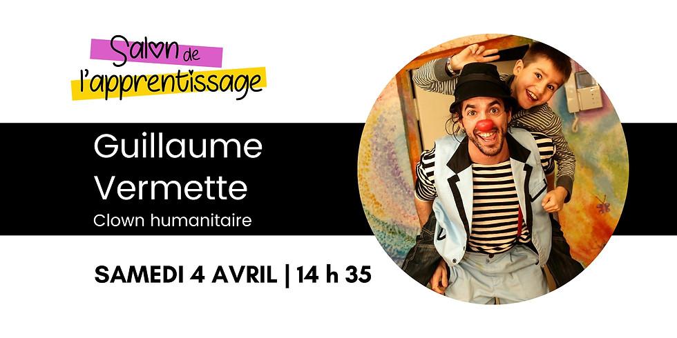 14 h 35 Guillaume Vermette  Clown Humanitaire  | 10 ans de travail humanitaire