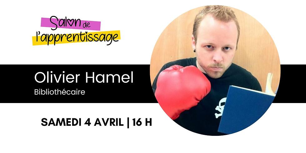 16 h Olivier Hamel  | Une approche ludique pour favoriser la réussite éducative et la persévérance scolaire.