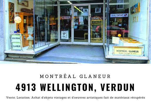 Montréal Glaneur ouvre sa nouvelle boutique.