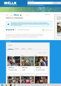 Amélie et Compagnie, série web