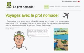 Prof Nomade autour du monde