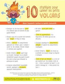 10 Stratégies pour calmer les petits volcans