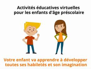 Activités éducatives virtuelles
