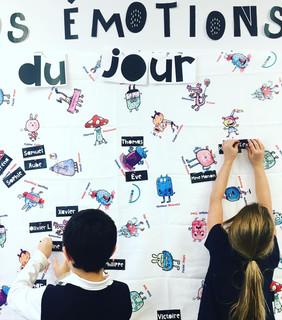 Les émotions | Nappe éducative ($)
