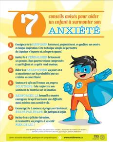 7 conseils avisés pour aider un enfant à surmonter son anxiétéà surmonter son anxiété