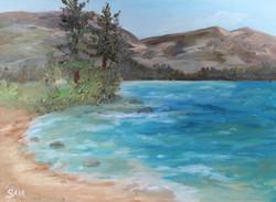 Plein Air Study of Donner Lake