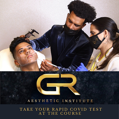 Take your Rapid Covid Test at the Course