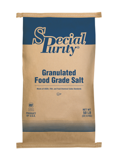 Special Purity Untreated Food-Grade Salt