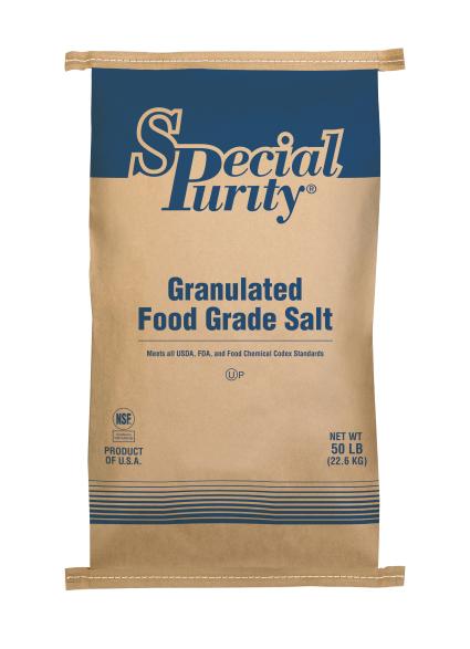 Special Purity Untreated Food-Grade Salt