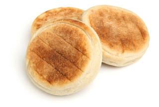 English muffins on white background..jpg
