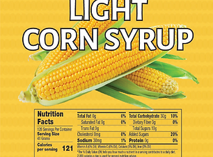 Light corn syrup label.PNG