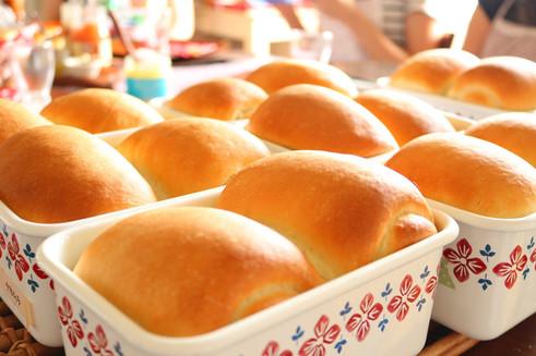 ホーローde湯種食パン