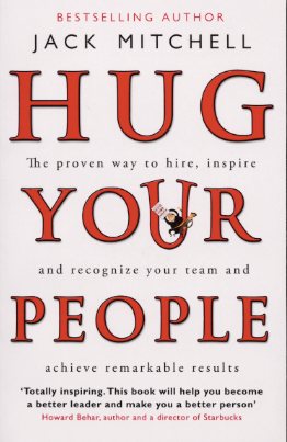 Hug Your People - by Jack Mitchell