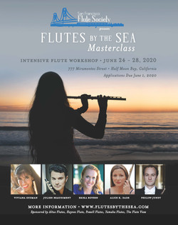 Flutes by the Sea Ad, 2020