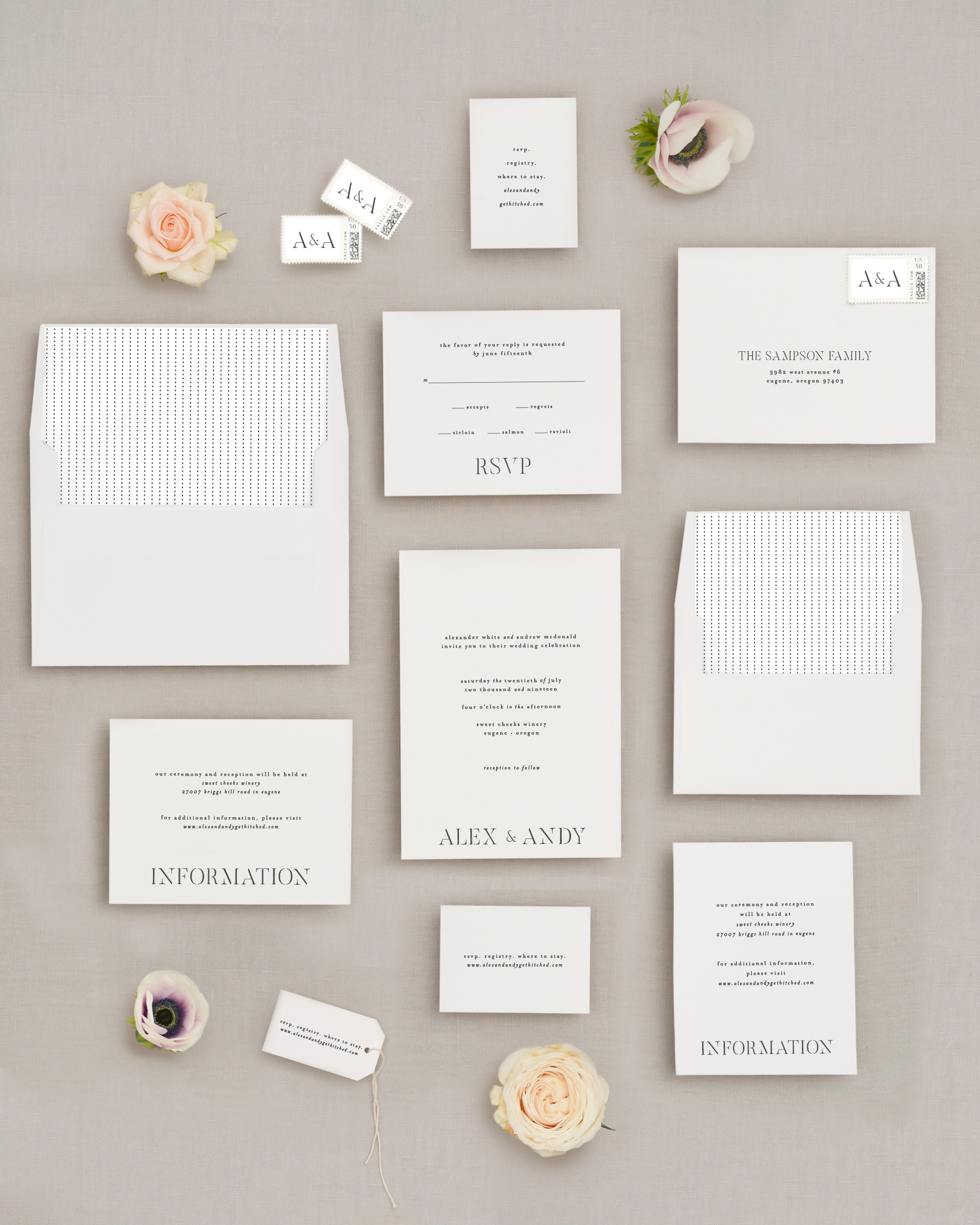 Wedding Invite Suite + Composite
