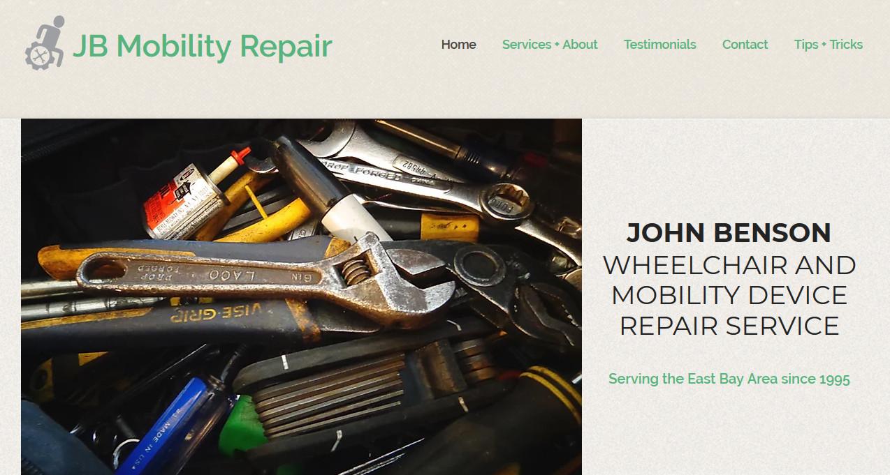 JB Mobility Repair Website