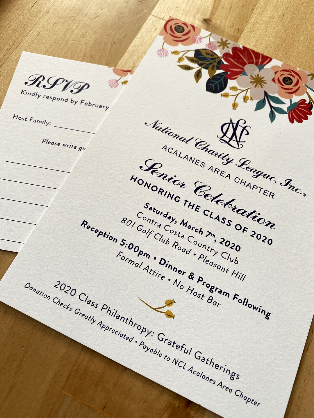 Event Invitation + RSVP