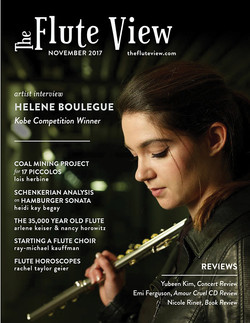 Flute View Cover, 2017