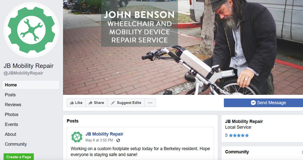 JB Mobility Repair Facebook