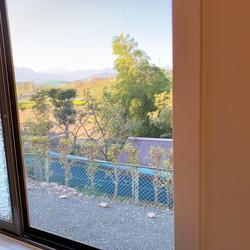 View from bath window