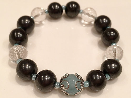 Bracelet (S) Aquamarine series