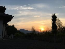 Sunset sky_Mt Miyogi