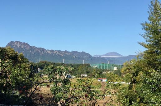 Mt. Miyogi & Mt. Asama