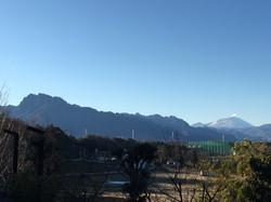 View of Mt Asama and Mt Miyogi
