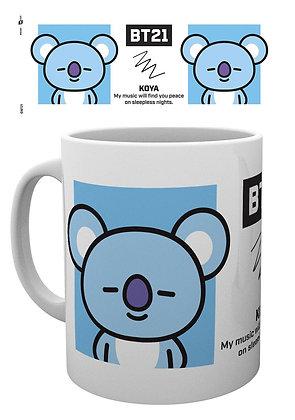BT21 mug Koya