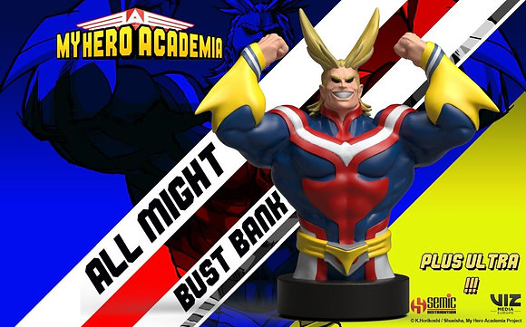 MY HERO ACADEMIA ALL MIGHT BUST BANK