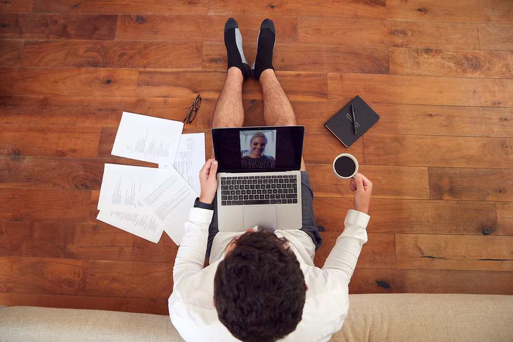 Video meeting online interview