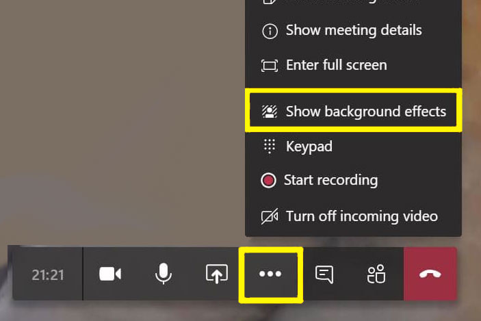 background effects microsoft teams virtual background