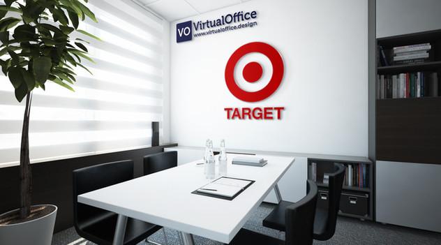 Virtual background - Target
