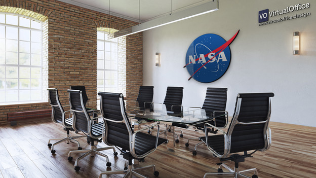 Virtual background - NASA