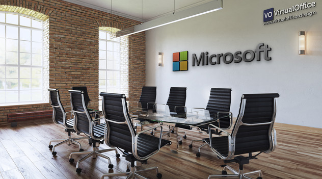 Virtual background - Microsoft