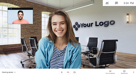 Virtual Office - Virtual backgrounds for video meetings