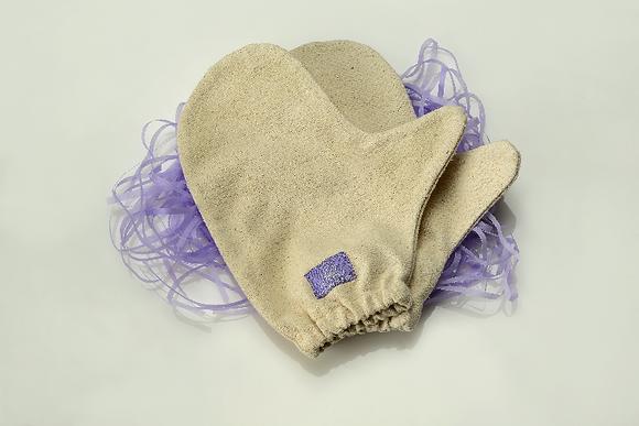 Ayuwave Raw Silk Gloves