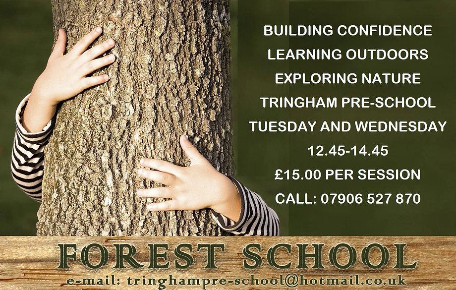 Tringham Preschool - Forest School Pictu