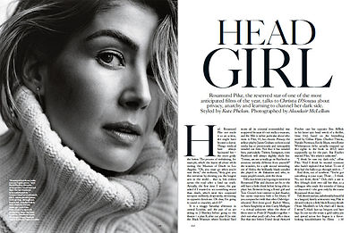 ROSAMUND PIKE, HEAD GIRL