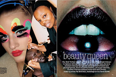 PAT MCGRATH, BEAUTY QUEEN