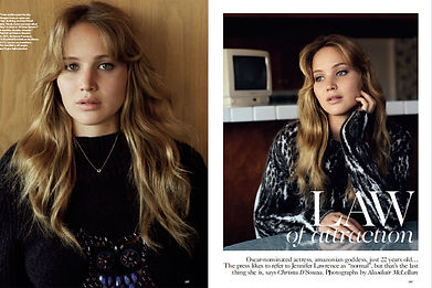 JENNIFER LAWRENCE - LAW OF ATTRACTION