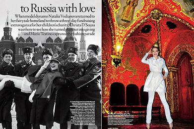 NATALIA VODIANOVA - TO RUSSIA WITH LOVE